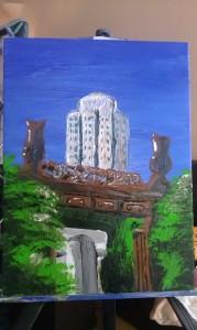 Chi Lin Nunnery Gate