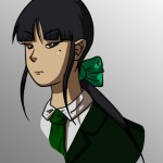 Ashleigh Ng, experienced little-miss badass and spouter of exposition.