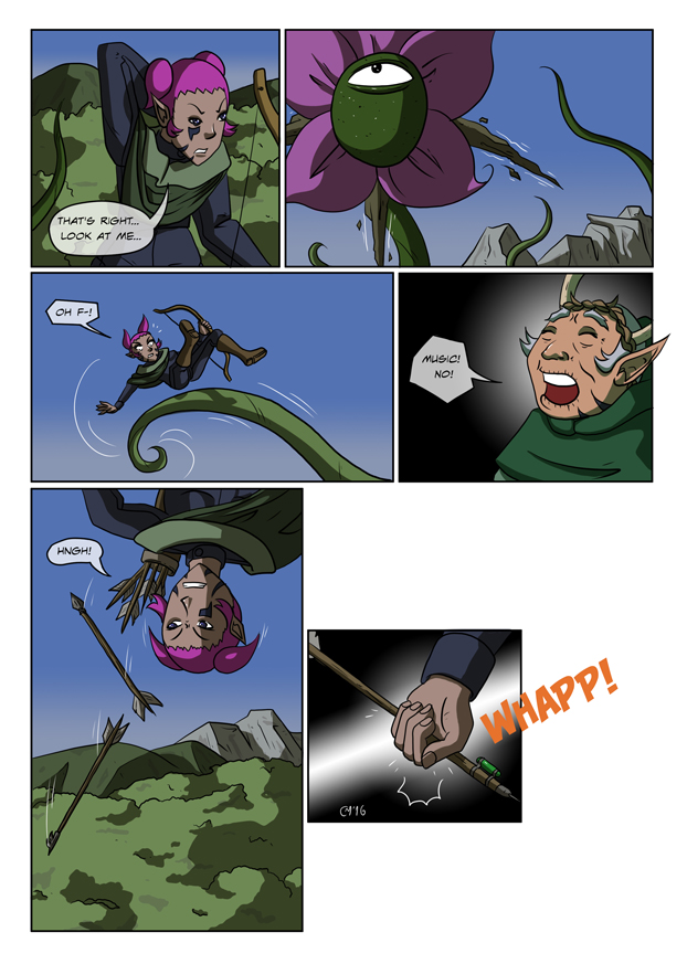 Elves weren't meant to fly!